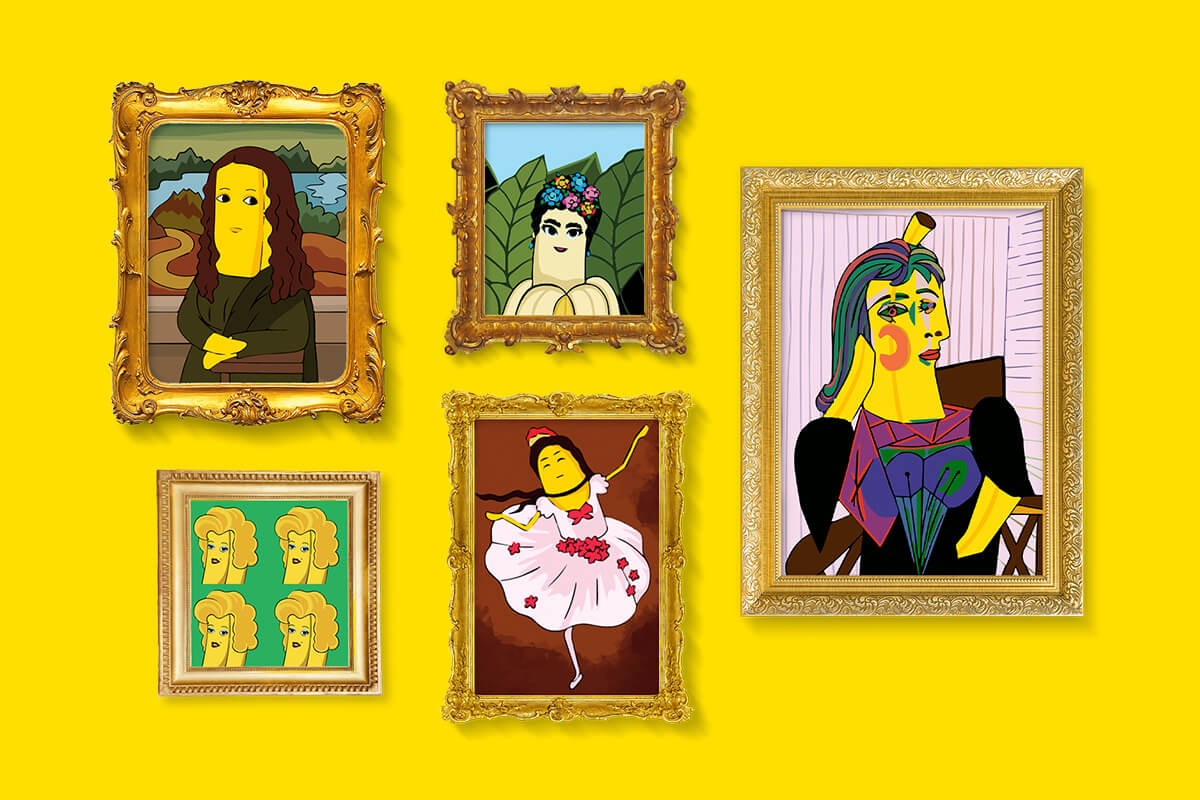Which Chiquita masterpiece are you?